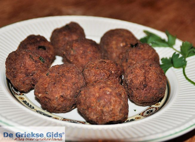 Keftedakia, Griekse gehaktballetjes